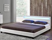Bett mit LED 140 200