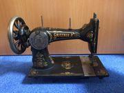 Gritzner Nähmaschine mit schönem Muster