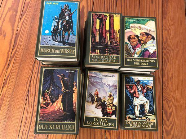 Karl May Sammlung diverse Bücher