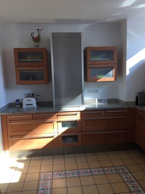 Große Siematic Küche mit Fronten in Ahorn Bernstein in Ratingen ... | {Fronten küche 30}
