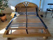 Massivholz Bett