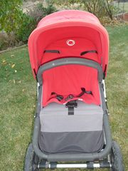 Bugaboo Camelon in Rot Anthrazit