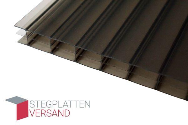 Stegplatten 16mm Bronze Polycarbonat Hohlkammerplatten