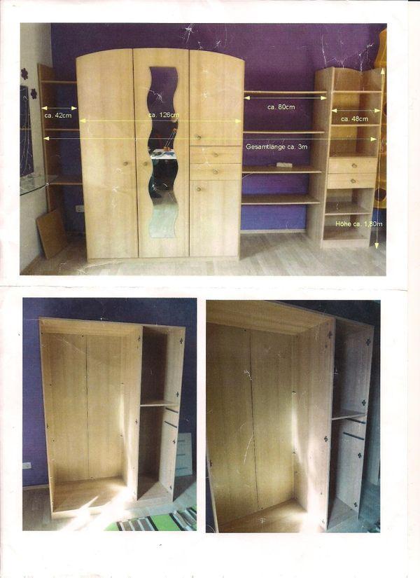 Schrankwand Und Bett Fur Das Kinderzimmer Zu Verkaufen In Potsdam