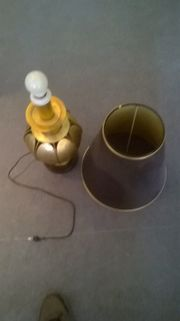 Stehlampe aus Messing