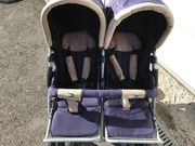 Zwillings. / Geschwisterwagen Kinderwagen