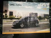 Opel Zafira B Betriebsanleitung