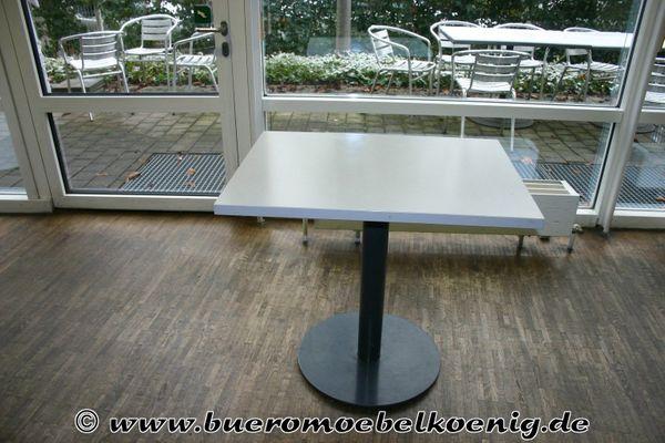 Tisch 60 X 80 In Weiss Grau Gebraucht In Garching Buromobel
