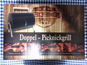 Doppel-Picknickgrill NEU