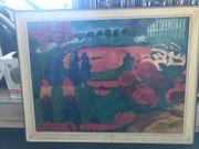 Gemälde mit Original
