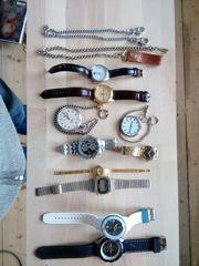 Arbanduhren / Taschenuhren / Uhrenkette