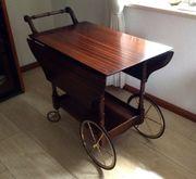 Teewagen Servierwagen Rolltisch englisches Stilmöbel