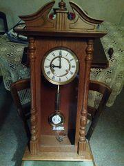 Uhrenkasten Holz von Wandpendeluhr