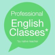 Professional English classes with Native