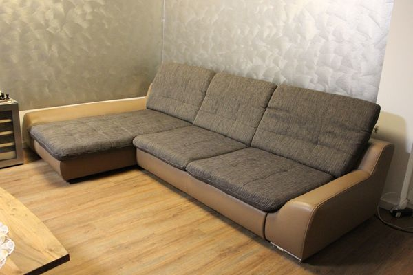 Sofa Wohnlandschaft Ottomane L Form 3 10 Cm X 1 75 Bett Funktion