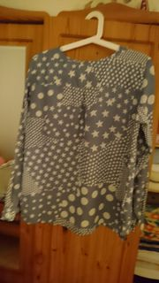 Damen Kurzarm Bluse Crinkle Crash Knitterbluse kurzärmelig Halbarm ... 4719745c77