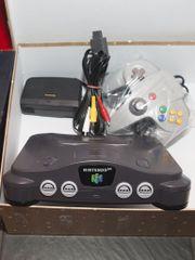 N64 Konsole Nintendo
