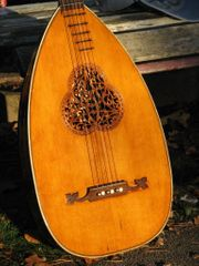 Gitarre Laute Wandervogel Waldzither 1905