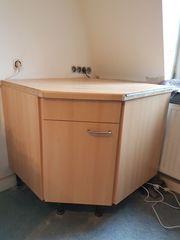 Küche Kücheneckschrank mit Rondell Karussell