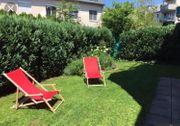 Suche Gartenwohnung oder Häuschen