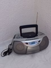 Radio mit CD- Kassetten-Spieler PHILIPS