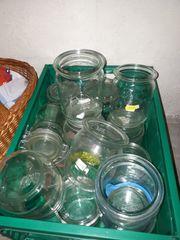 Einmachgläser Sammlung