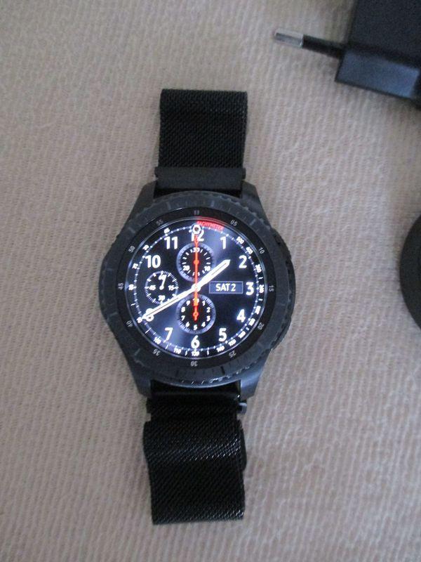 Smartwatch Samsung SM-R760NDAADBT Gear S3