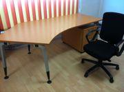 Schreibtisch Bürotisch Computertisch mit unterschrank