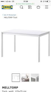Tisch MELLTROP IKEA