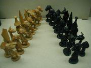 Älteres Schachspiel aus