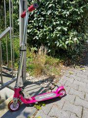 Kinderroller Roller Scooter pink der
