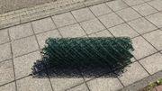 Maschendrahtzaun-Viereckgeflecht grün neu 9m x