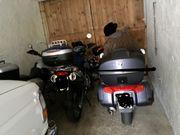 Winterstellplatz für Motorräder