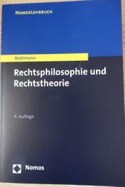Rechtsphilosophie und Rechtstheorie ISBN 9783848728718