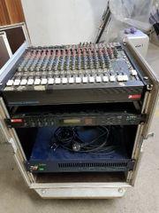 Soundanlage Mischpult + Verstärker