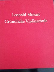 Buch Leopold Mozart Gründliche Violinschule