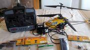 Helikopter der Marke dynam