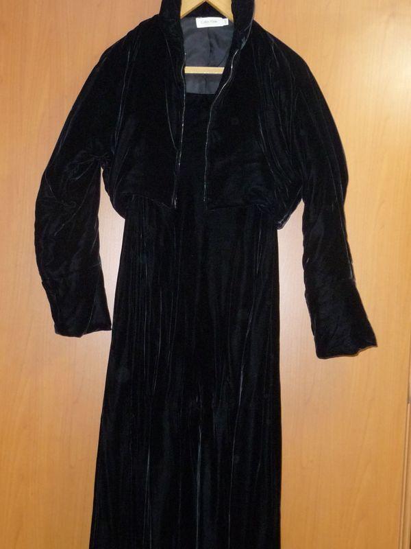 5efab9d24006 schwarzes Calvin Klein - Damen - Kleid mit Bolero-Jäckchen Gr.8, in ...