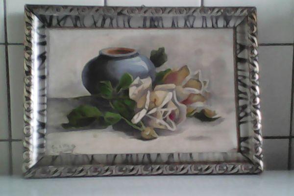 Gemälde, Stilleben , Mahler » Kunst, Gemälde, Plastik