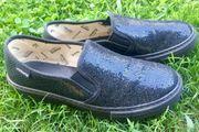 Schwarze Victoria Schuhe