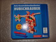 Holz Hubschrauber Baukasten