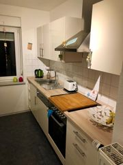 Küche inklusive Kühlschrank neuwertig