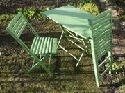 Garten/ Balkonsitzgruppe aus