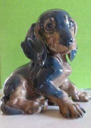 Rosenthal Figur Dackelwelpe