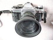 Canon AE1 mit Objektiven