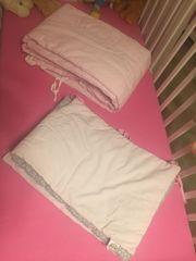 Babybettschutz Nestchenschlange Bettumrundung 2x in