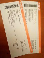 2x Ticketes für