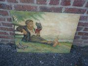 Altes Gemälde nach