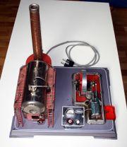 Wilesco Dampfmaschine, elektrisch