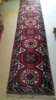 Orientteppich handgeknüpft 290 x 70